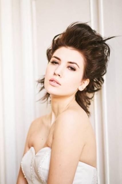 nude bridal make up