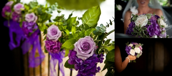 Purple and Lilac Wedding Flowers