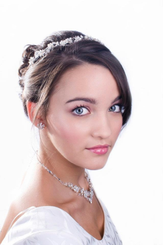 Brunette Bridal Makeup