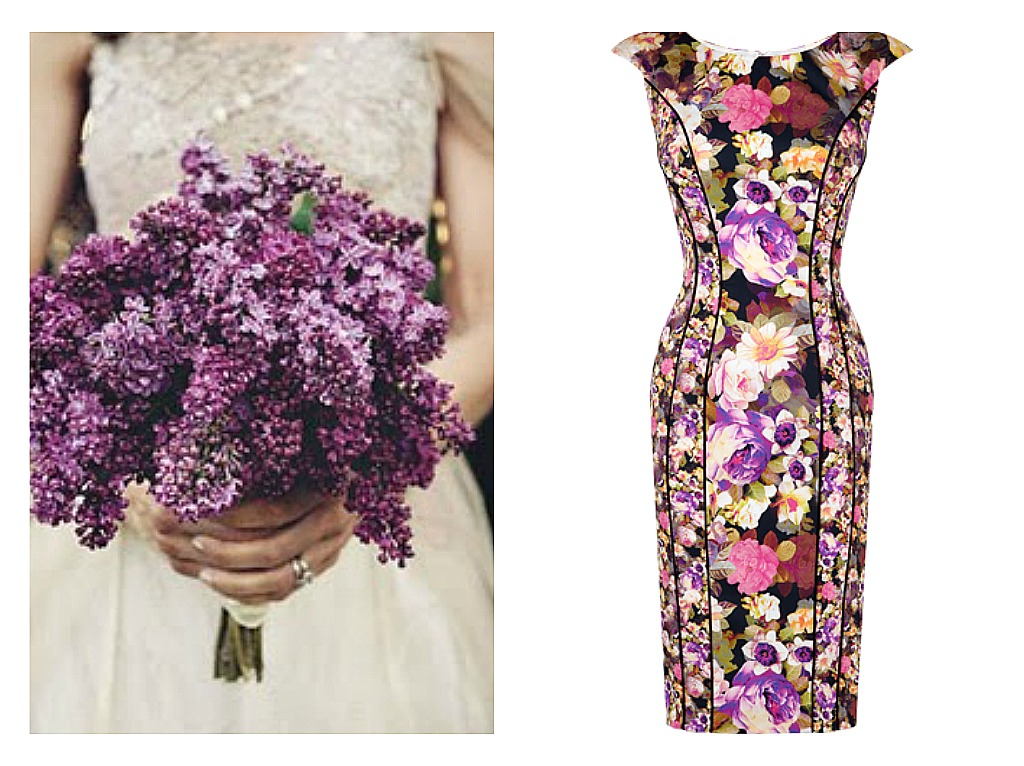 Gorgeous floral dresses perfect for a spring celebration ice the