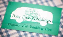 Invitation to Pear Tree Weddings Campervan Launch