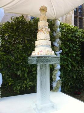 Ice Wedding Cake Stand