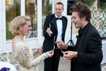 Ocado Ball Wedding Magician Buckinghamshire