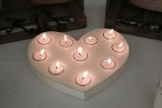 3. Heart Tealight Holder
