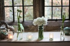 Elegant Spring Wedding Window display
