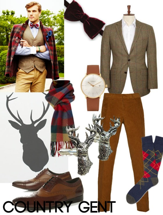 Groom Style Country Gent