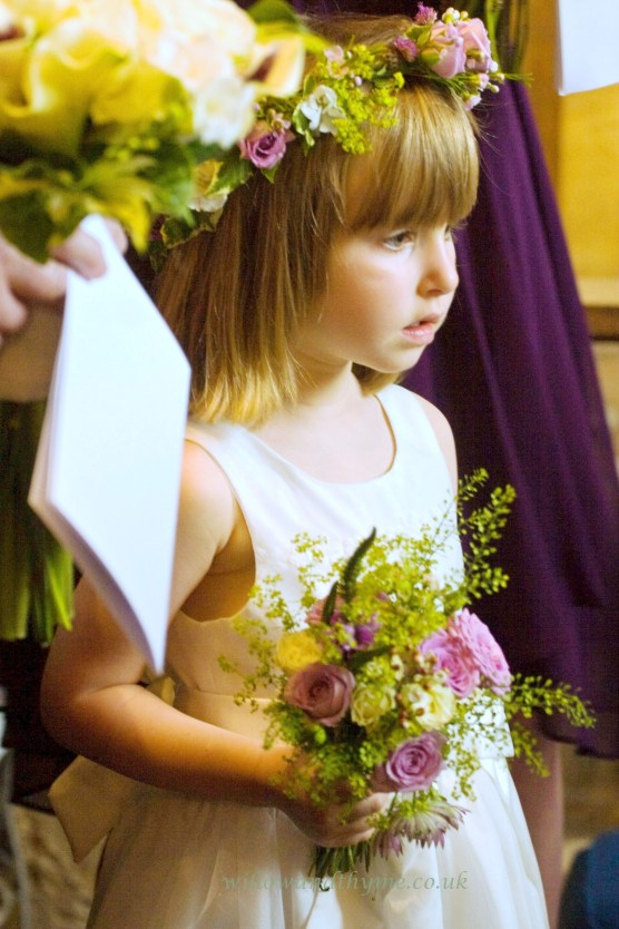 Pretty Summer Flower Girl