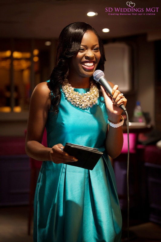 Sotonye, Founder of SD Weddings Management