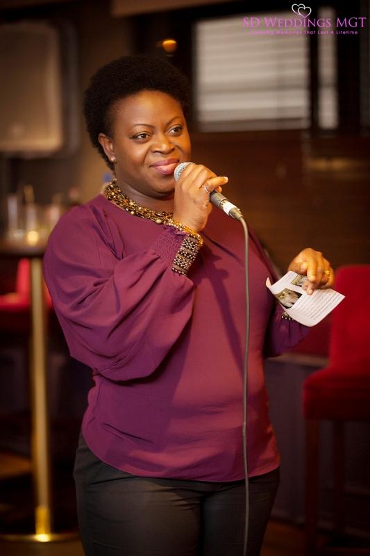 Inpsirational Speaker, Seyi, Owner of Cedar Events