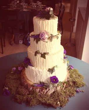 V&V woodlanded wedding cake2