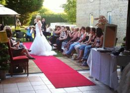 Red Carpet Outdoor Catwalk
