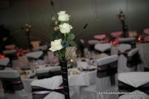 Monochrome Wedding Reception Scotland