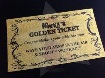 Wonka ticket