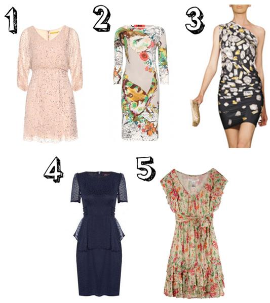 5 Designer Wedding Guest Dress Ideas