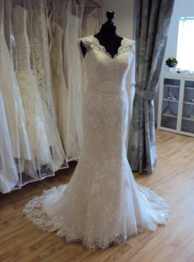 Justin Alexander Wedding Dress '8626'