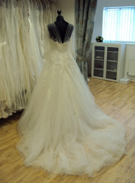San Patrick 'Arizona' Bridal Gown Bedfordshire Ex Sample