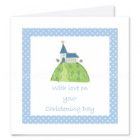 Christening card kate lewis design