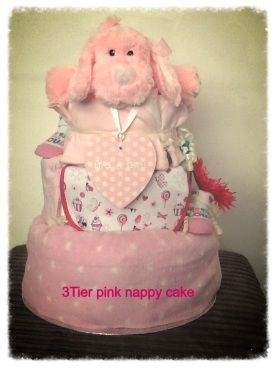 3 tier nappy cake