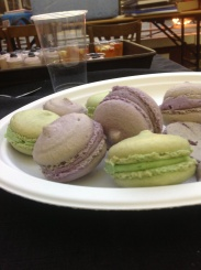 Lilac and Green Tasty Macaron The Waddesdon Deli Company