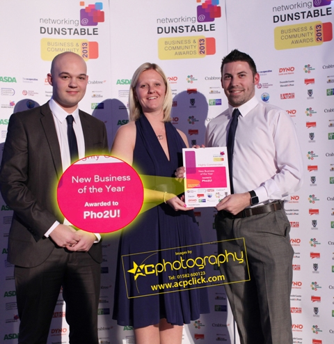 Pho2U Highly Commended New Dunstable Business of the Year