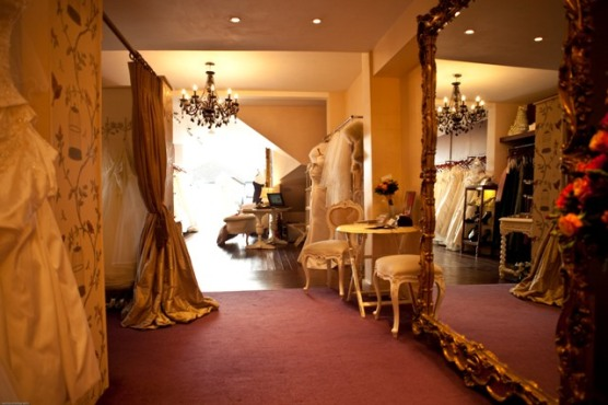 The Bridal House Interior Wedding Dress Boutique Buckinghamshire