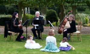 Ariella Strings trio with kids