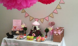 Fairy Birthday Party Pink Tea Parties