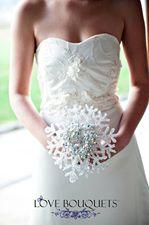 Love Bouquets snowflake bouquet
