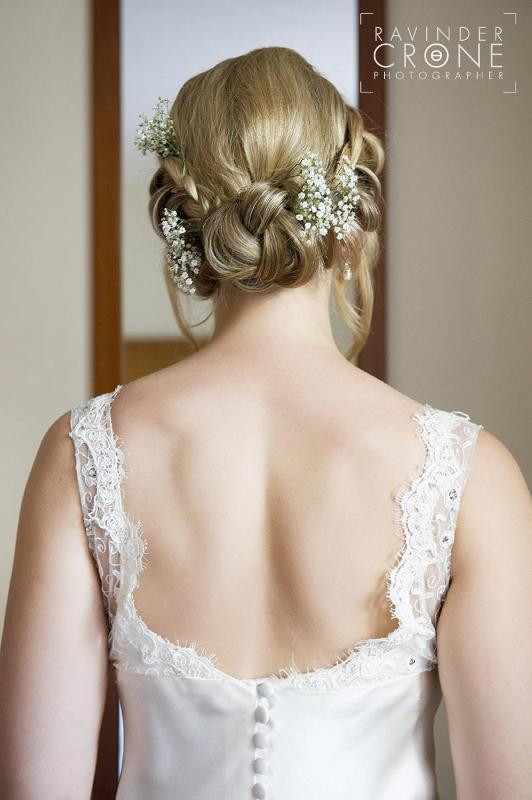 low plait bridla hairstyle - Freelance Stylist