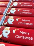 Merry Christmas Chocolate Bars from WrapperStar