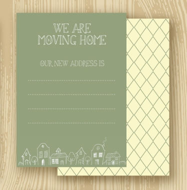 Moving Home Card