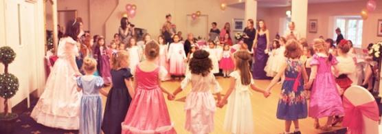 Pink Tea Parties Princesses