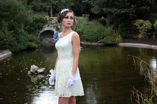 Short Ivory Wedding Dress Black Pearl Weddings