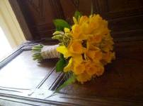 Yellow Daffodil Bridal Bouquet