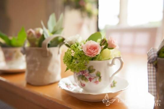 Robins Flowers teacup
