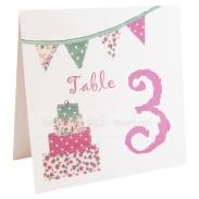 Kate Lewis table number