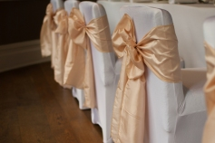 Ivory Chair Sashes The Green House Hotel Bournemouth