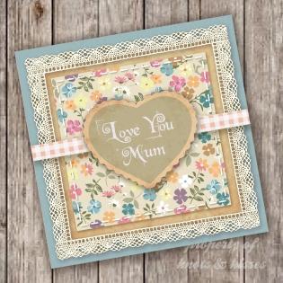 Knots & Kisses card