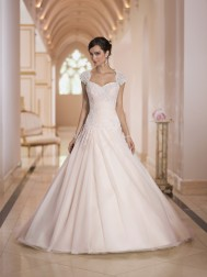 Stella York Bridal Gown Princess Style with Sweetheart neckline