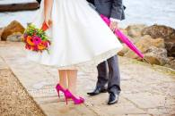Hot Pink Wedding Accessories