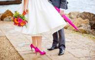 Hot Pink Wedding Accessories