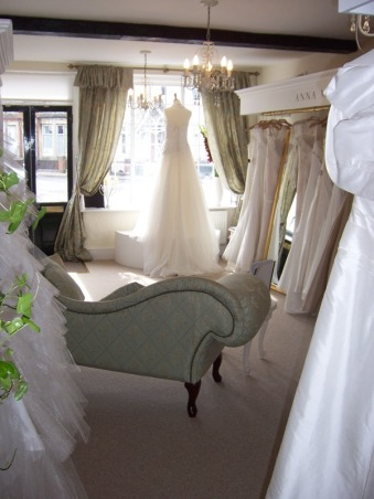 Wedding Dresses at Anna McDonald Bridal Boutique Thame Oxfordshire